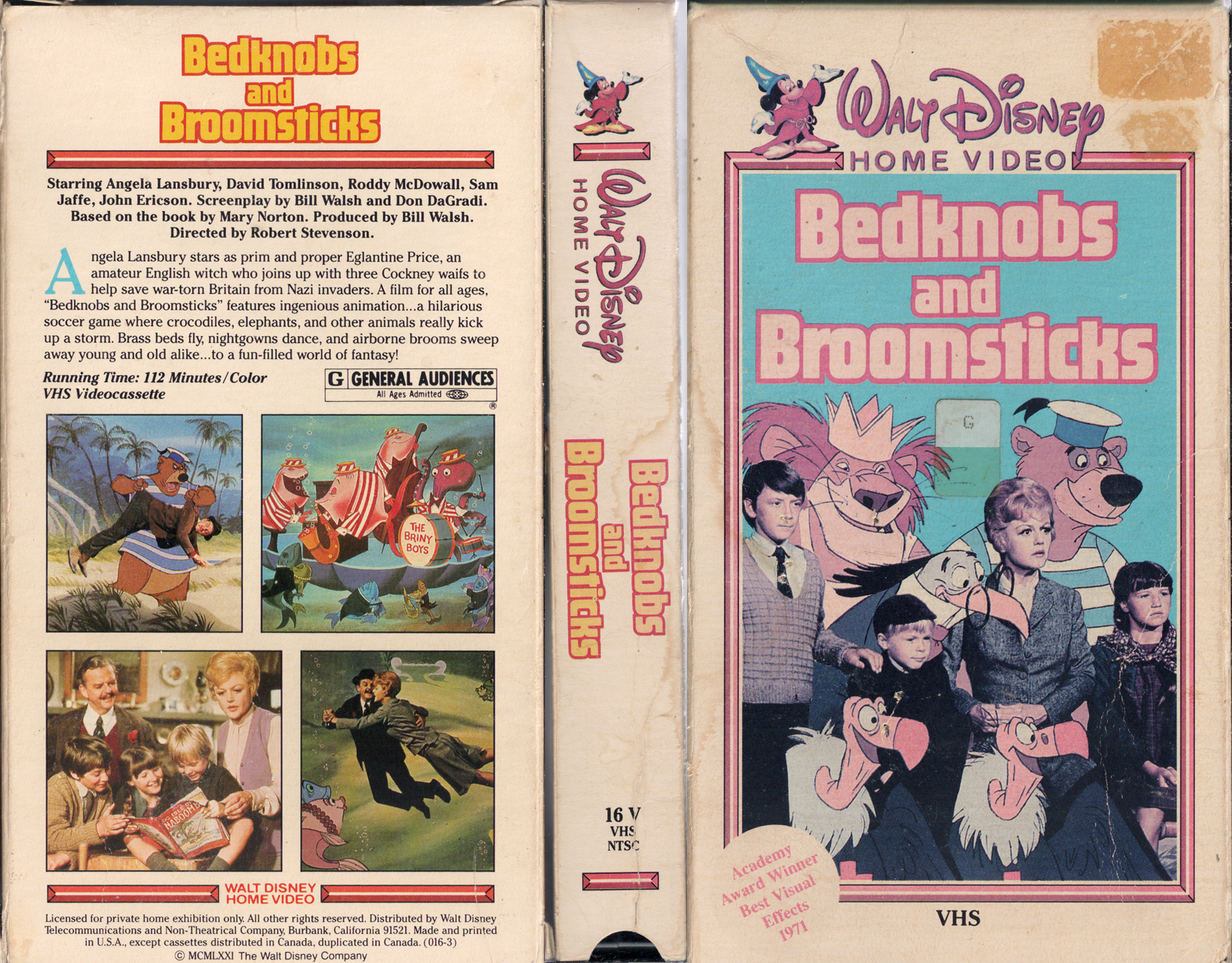 gallery for gt bedknobs and broomsticks vhs