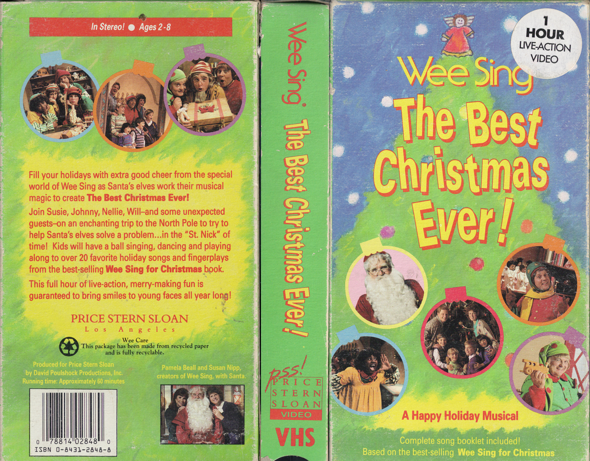 retro daze vhs covers - Wee Sing The Best Christmas Ever