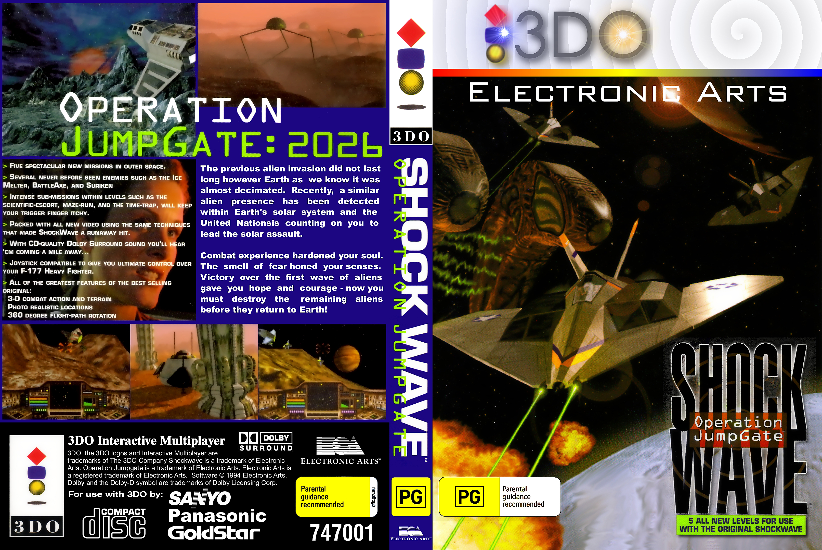 3DO - Shock Wave - Operation Jumpgate