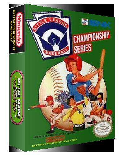 little league baseball nes