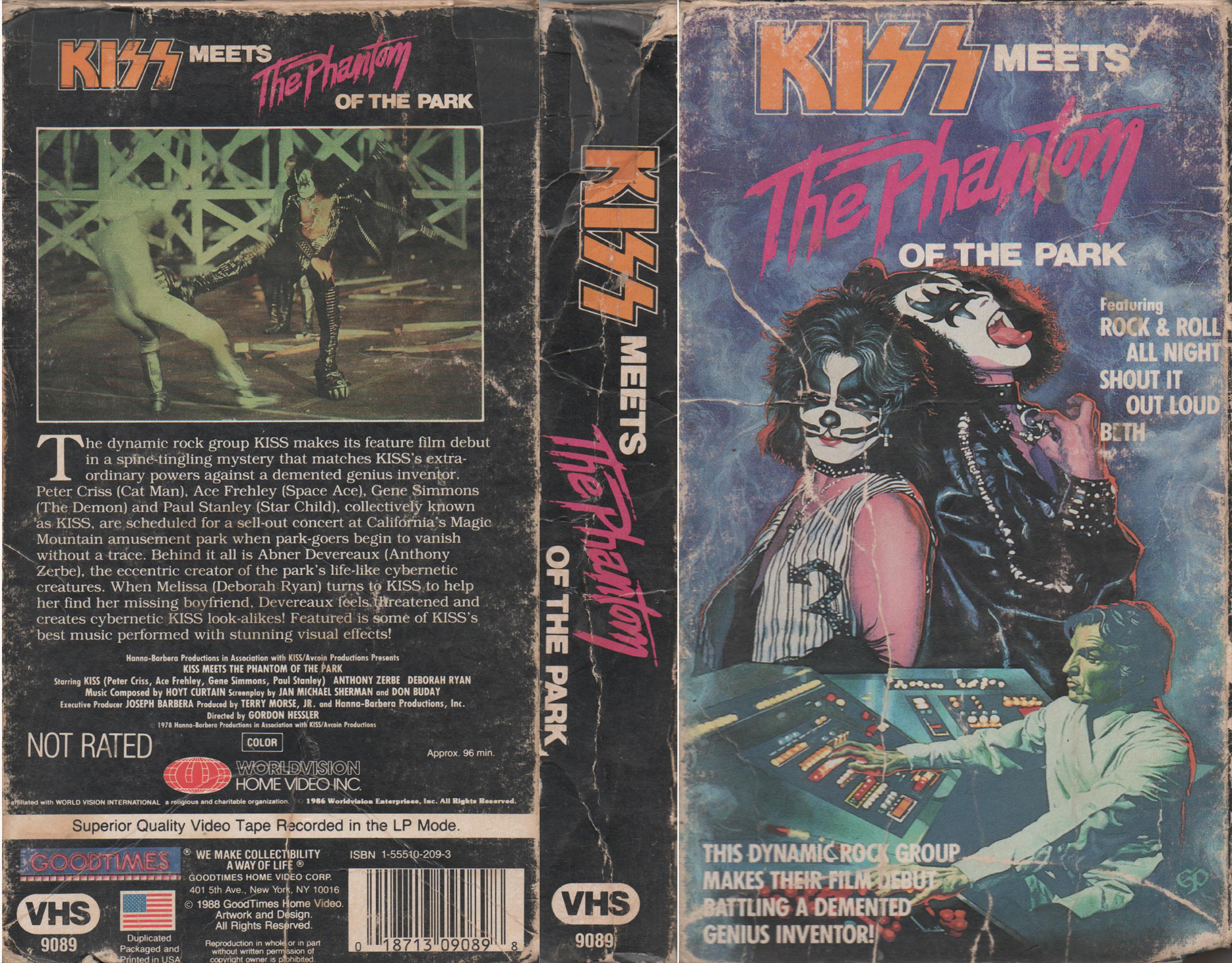 Kiss meets the phantom of the park  kiss in the attack