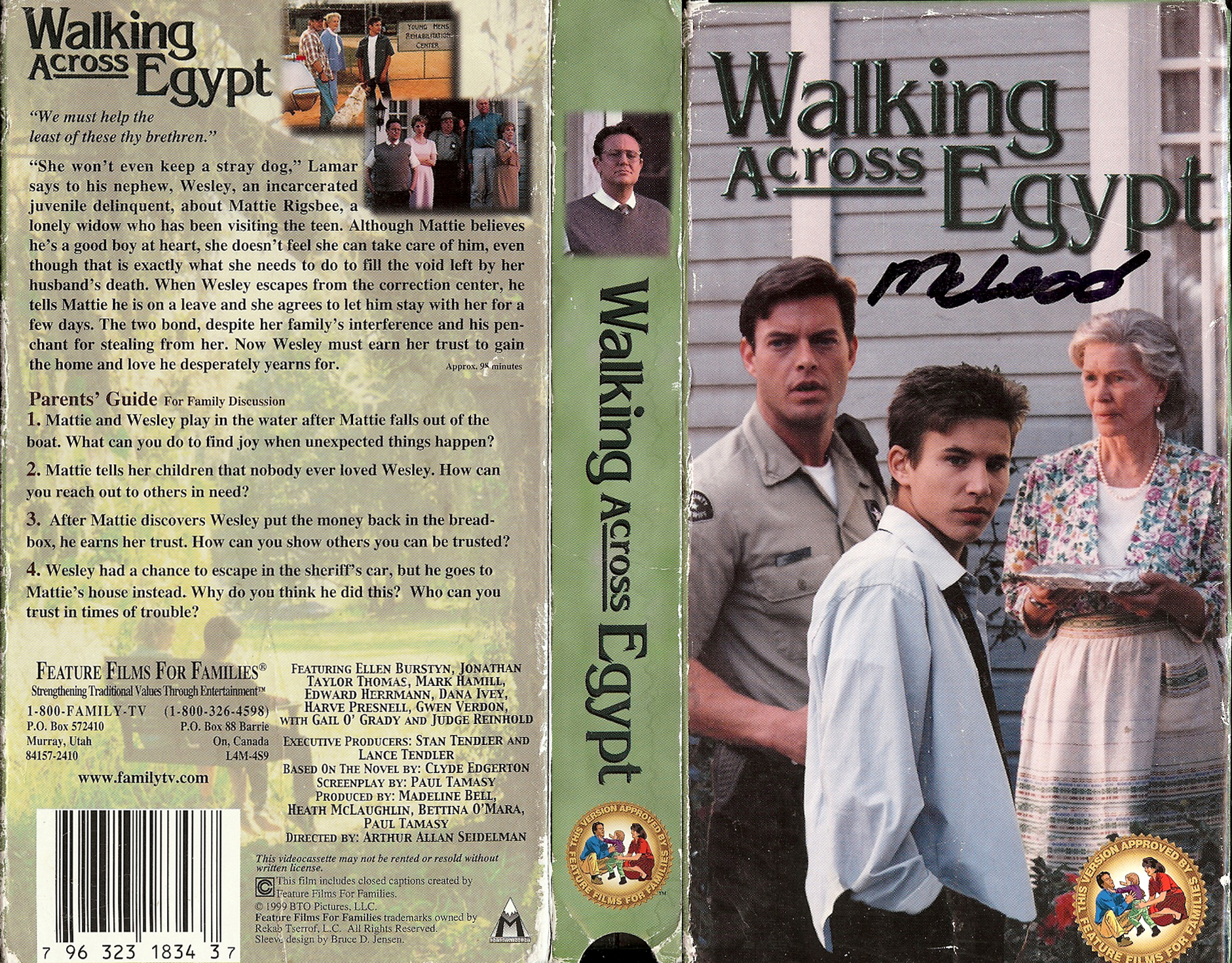 an analysis of the novel walking across egypt by clyde edgerton
