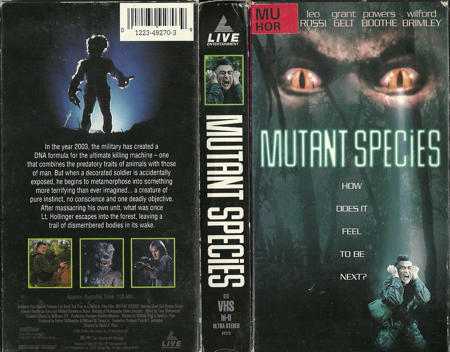 Mutant Species [1994]