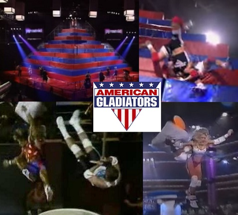 american gladiators pyramid