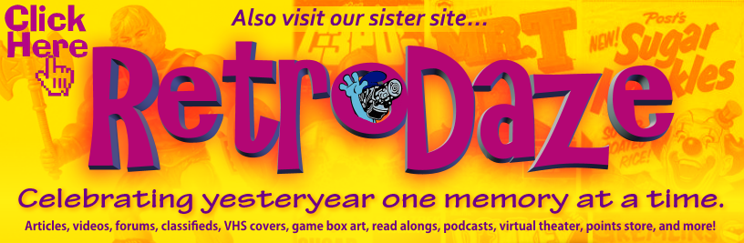 Visit RetroDaze Now!