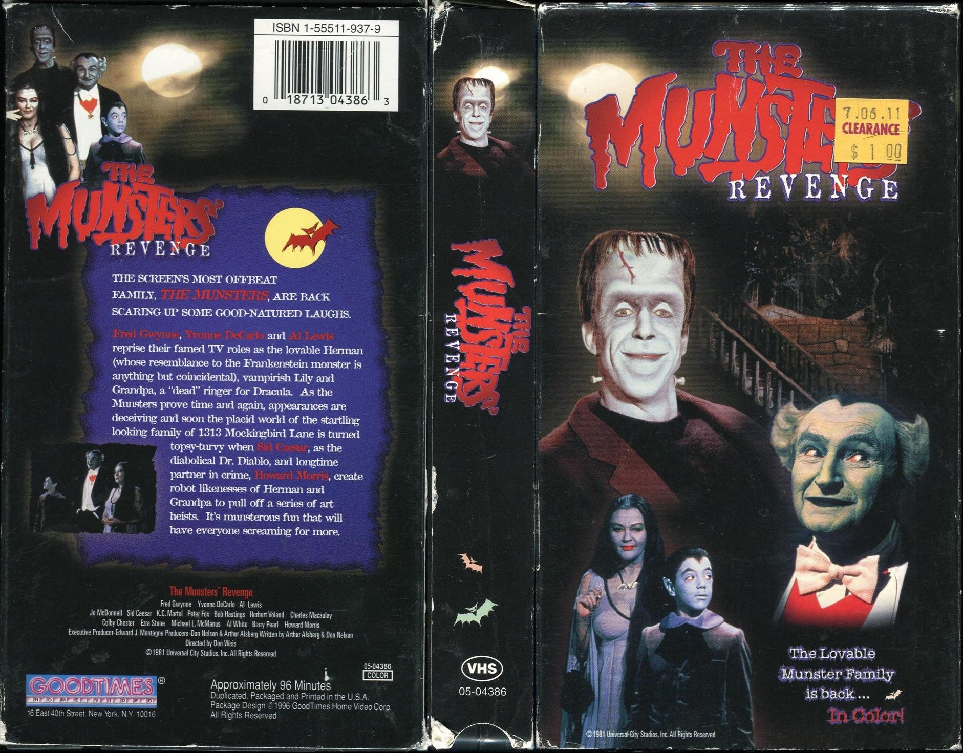 Munster Go Home Full Movie Free Online