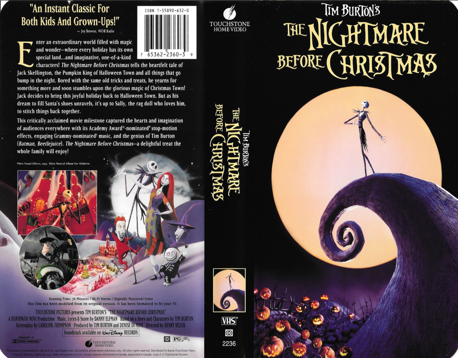 The Nightmare Before Christmas soundtrack Wikipedia 6821032 ...