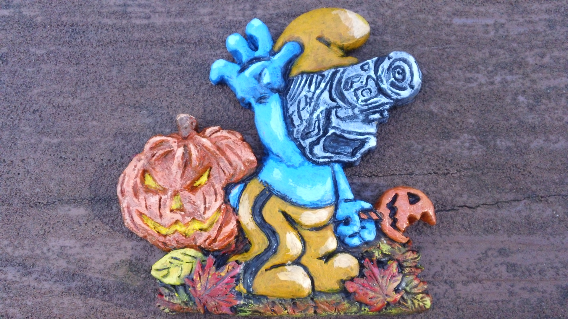 Halloween Photog Smurf